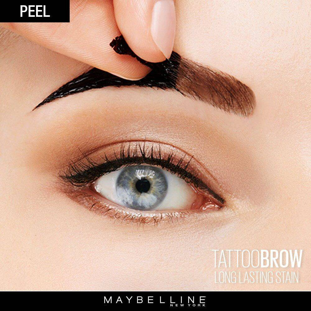 NEW Tattoo Brow Peel Off Tinted Semi-Permanent Eyebrows